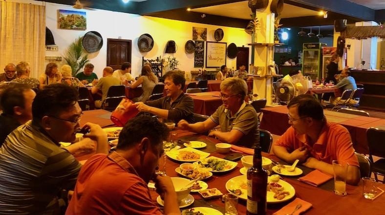 Busy Restaurant
